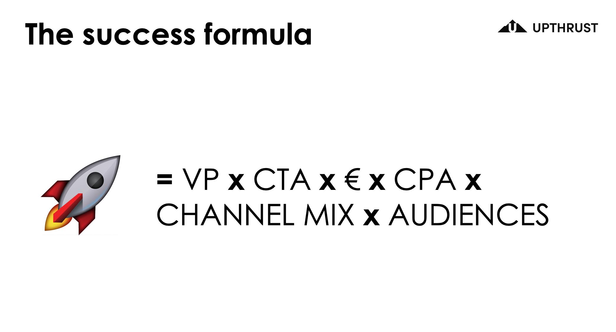 Growth Marketing Formula